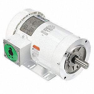 2 HP Washdown Motor,3-Phase,3490 Nameplate RPM,230/460 Voltage,Frame 145TC