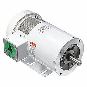 2 HP Washdown Motor,3-Phase,1745 Nameplate RPM,230/460 Voltage,Frame 145TC