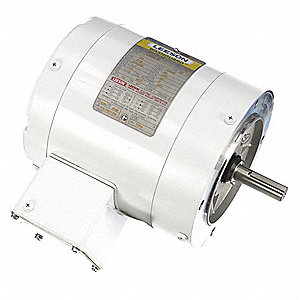 Leeson 1 4 hp washdown motor 3 phase 1725 nameplate rpm for 1 4 hp 3 phase motor