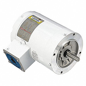 3/4 HP Washdown Motor,3-Phase,3450 Nameplate RPM,230/460 Voltage,Frame 56C