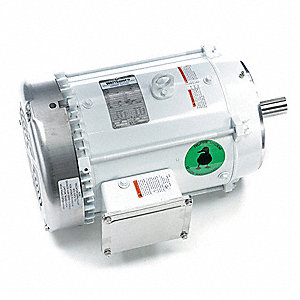 7-1/2 HP Washdown Motor,3-Phase,3525 Nameplate RPM,230/460 Voltage,Frame 213TC