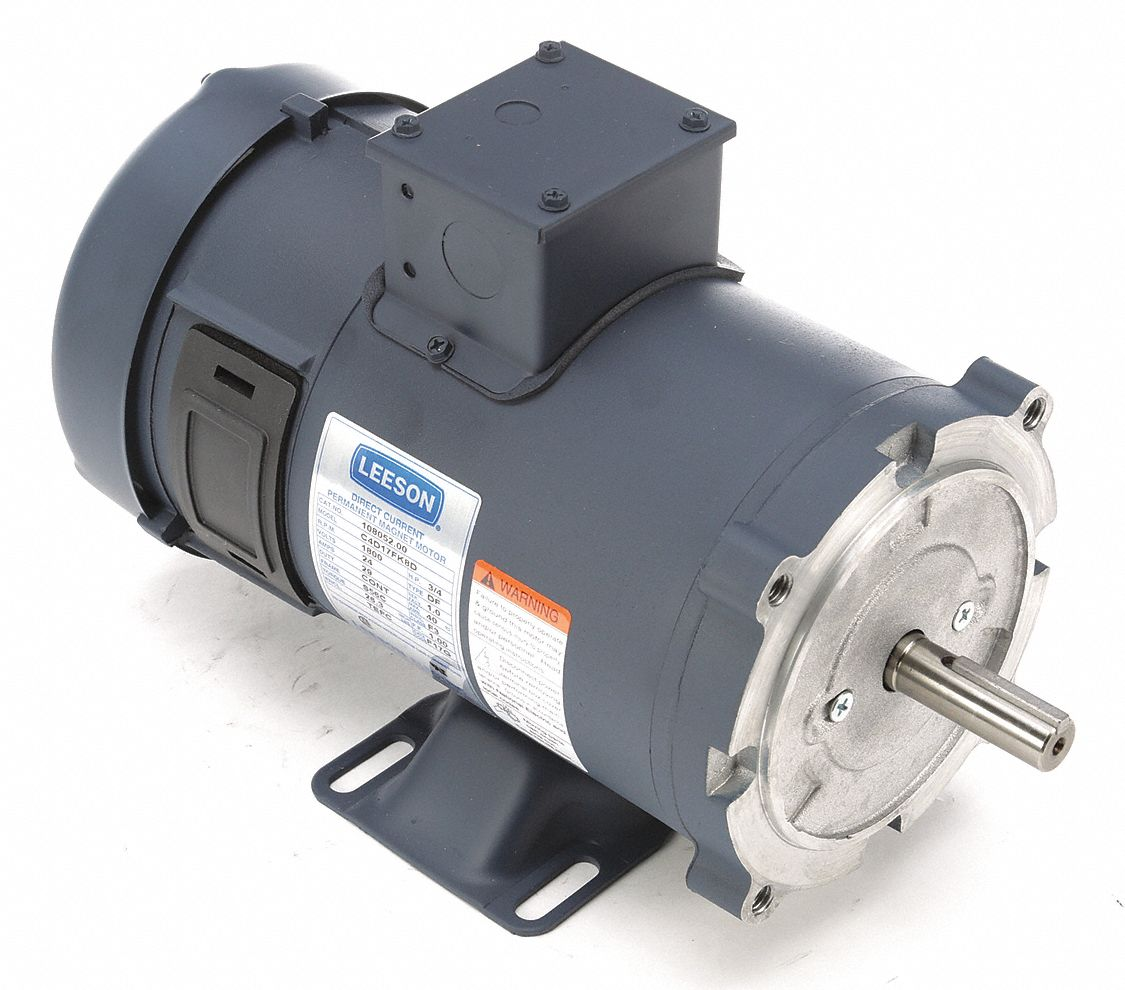 Permanent Magnet Motor >> Leeson 3 4 Hp Dc Permanent Magnet Motor Dc Permanent Magnet 1800