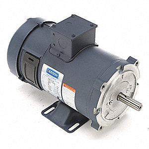 Leeson Dc Permanent Magnet Motor 29 0a 24vdc 48zg54