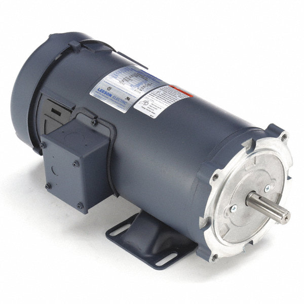Leeson 1 hp dc permanent magnet motor permanent magnet dc for Dc permanent magnet motor