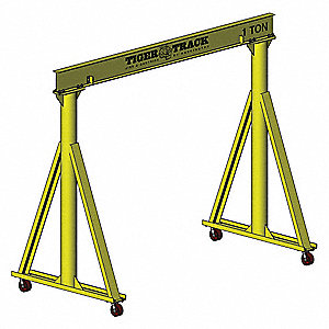 Portable Gantry Crane,4000 lb.,Steel