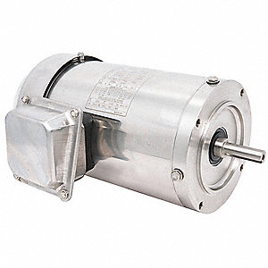 Washdown Motor,2 HP,3450 RPM