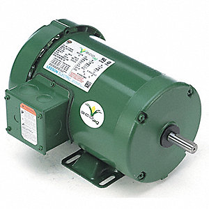 1 HP General Purpose Farm Duty Motor,3-Phase,1760 Nameplate RPM,230/460 Voltage,Frame 56