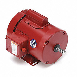 1/2 HP High Torque Farm Duty Motor,Capacitor-Start,1725 Nameplate RPM,115/230 Voltage,Frame 56