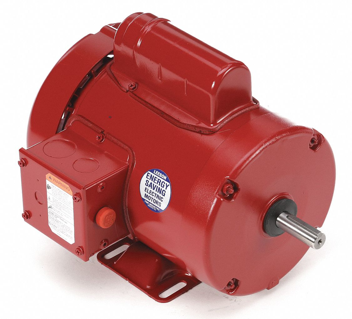 115//230V Voltage Rigid Mounting 60Hz Fequency 48Z Frame 1//4HP 1075 RPM Leeson 100824.00 Agricultural Fan Duty Motor 1 Phase