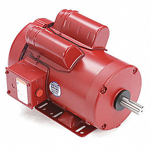 2 HP High Torque Farm Duty Motor,Capacitor-Start/Run,1725 Nameplate RPM,230 Voltage,Frame 56HZ