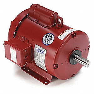 2 HP High Torque Farm Duty Motor,Capacitor-Start,1740 Nameplate RPM,115/230 Voltage,Frame 182