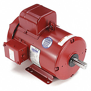 3 HP High Torque Farm Duty Motor,Capacitor-Start,1770 Nameplate RPM,230 Voltage,Frame 184