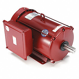 7-1/2 HP High Torque Farm Duty Motor,Capacitor-Start/Run,1740 Nameplate RPM,230 Voltage