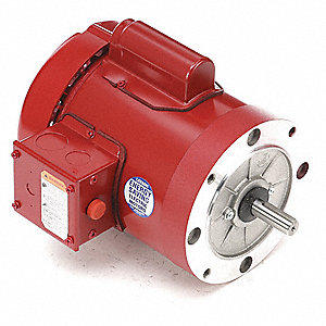 1/3 HP High Torque Farm Duty Motor,Capacitor-Start,1725 Nameplate RPM,115/230 Voltage,Frame 56C