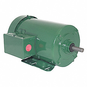 1-1/2 HP General Purpose Farm Duty Motor,3-Phase,1745 Nameplate RPM,208-230/460 Voltage,Frame 56