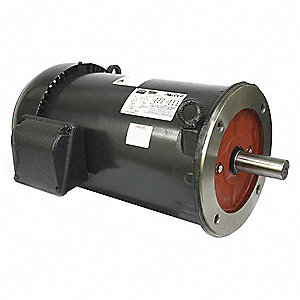 3 HP General Purpose Motor,3-Phase,1765 Nameplate RPM,Voltage 230/460,Frame 182/4TC