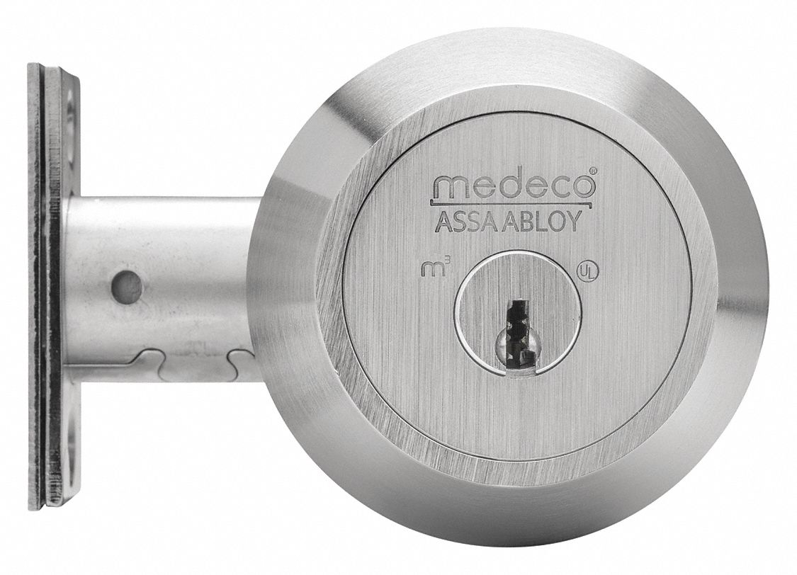 Deadbolt,  Cylindrical,  Commercial, Industrial, Institutional, Residential,  1,  11