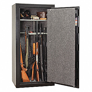 13.8 cu. ft. Gun Safe, 370 lb. Net Weight, 1/2 hr. Fire Rating, Combination/Key Lock Style