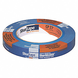 Painters Masking Tape, 55m x 18mm, Blue, 5.30 mil