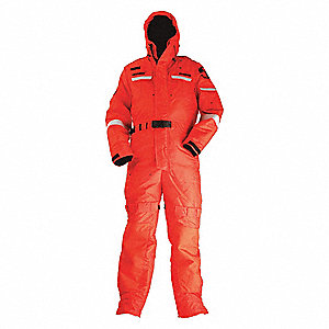 Anti-Exposure Work Suit,Orange,3XL