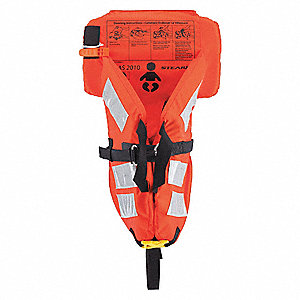 STEARNS Standard Life Jacket, USCG Type I, Foam Flotation ...