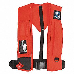 STEARNS Inflatable Life Jacket, USCG Type II, III, V, CO2 ...