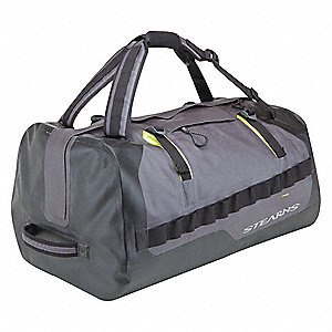 "Water Resistant Gear Bag,24"" L,Black"