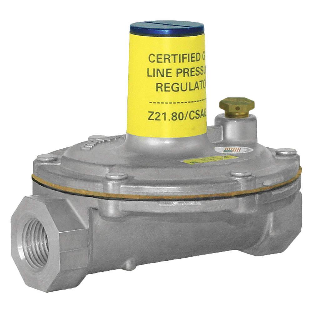 Gas Pressure Regulator, 2 psi, 250000 BtuH