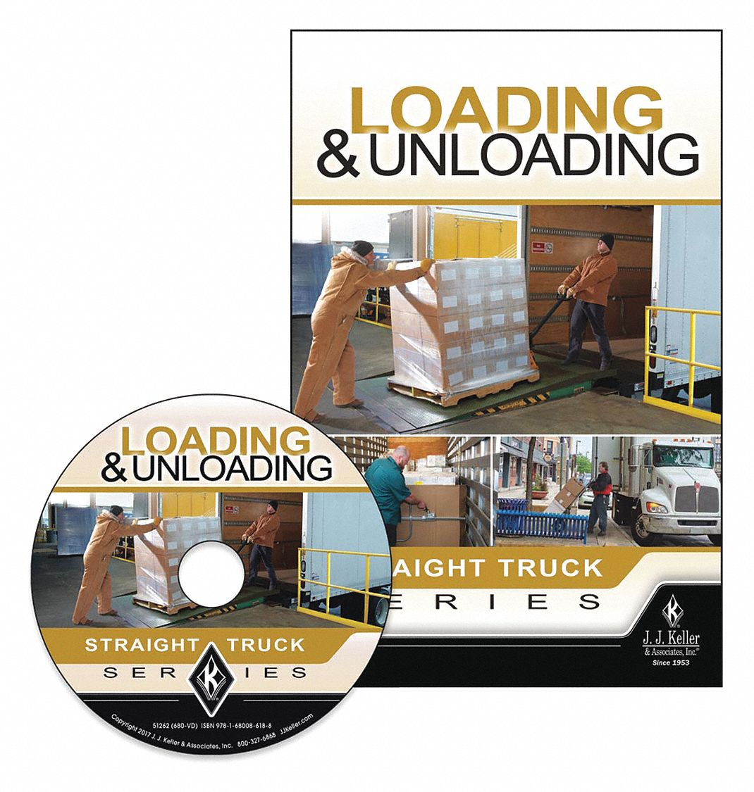 Safety Training Program,  DVD,  Material Handling/Lifting Safety,  English,  10 min