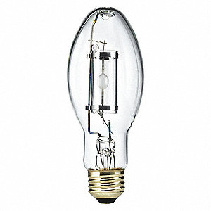 PHILIPS 50 Watts Metal Halide HID Lamp, ED17P, Medium