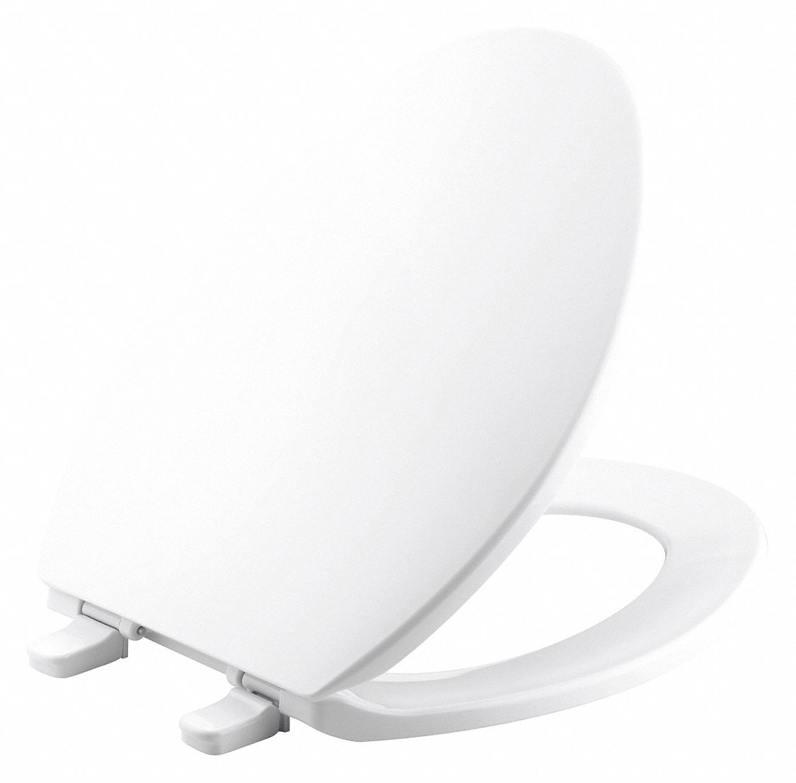 Elongated,  Standard Toilet Seat Type,  Closed Front Type,  Includes Cover Yes,  White