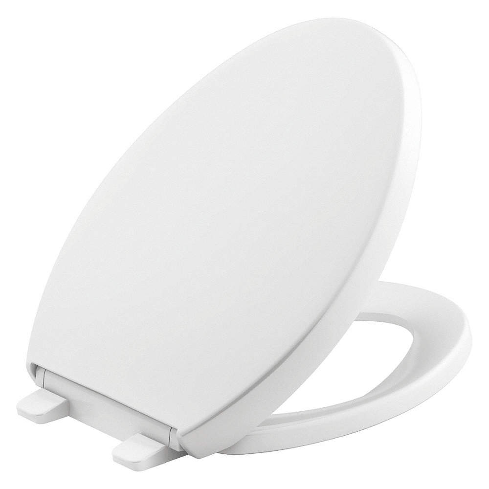 Astounding Elongated Standard Toilet Seat Type Closed Front Type Includes Cover Yes White Theyellowbook Wood Chair Design Ideas Theyellowbookinfo