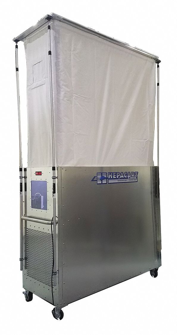 Ceiling Cavity Dust Containment Unit,  Number of Doors 1,  53 in Door Height,  24 in Door Width