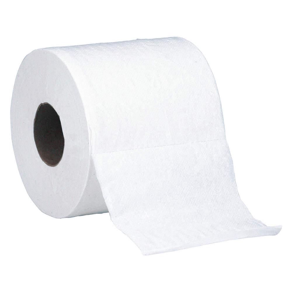 ABILITY ONE Toilet Paper Roll, Skilcraft, Standard Core, 2 Ply, 1 1/2 in  Core Dia., PK 96 - 494K89 8540-01-630-8729 - Grainger