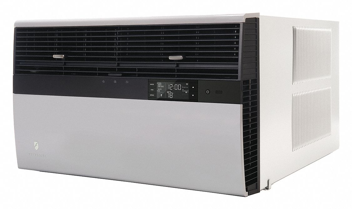 Commercial Grade,  Window Air Conditioner,  35,000 BtuH,  Cooling/Heating,  9.0 CEER Rating