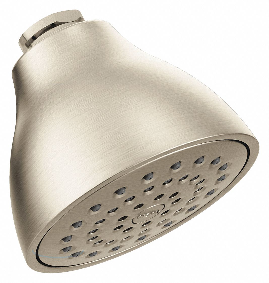 Moen,  Wall Mounted,  Showerhead,  2.5 gpm,  Brushed Nickel