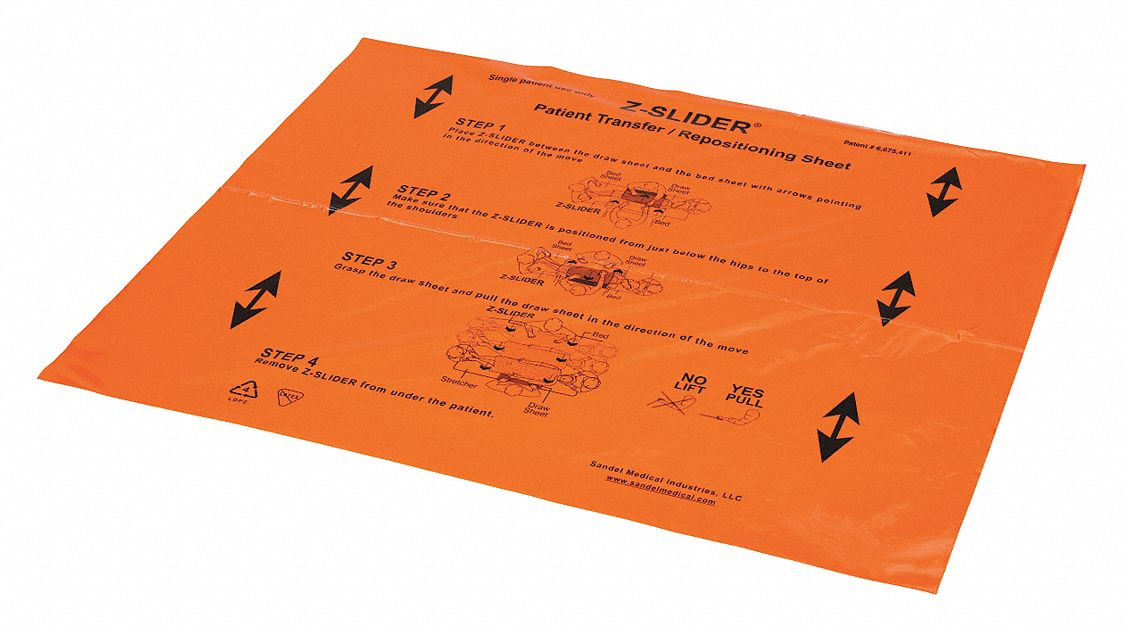 Transfer Sheet,  300 lb Weight Capacity,  39 in Length,  33 in Width,  33 in Height,  Polyethylene