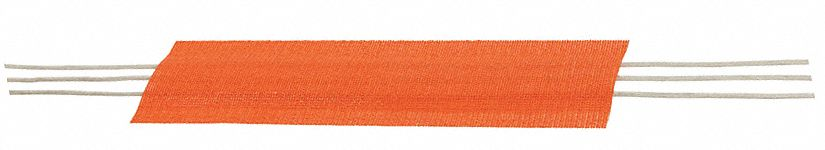 Cable Protector, 1-Channel, Orange, 3 ft x 1 1/2 inH, Max. Cable Dia.: 1 1/2 in