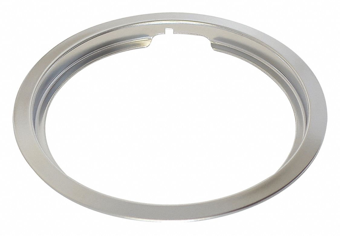 "Drip Pan Ring 6"",  Fits Brand GE,  For Use With Mfr. Model Number JB256RMSS, JB258RMSS, JBS160DMBB"