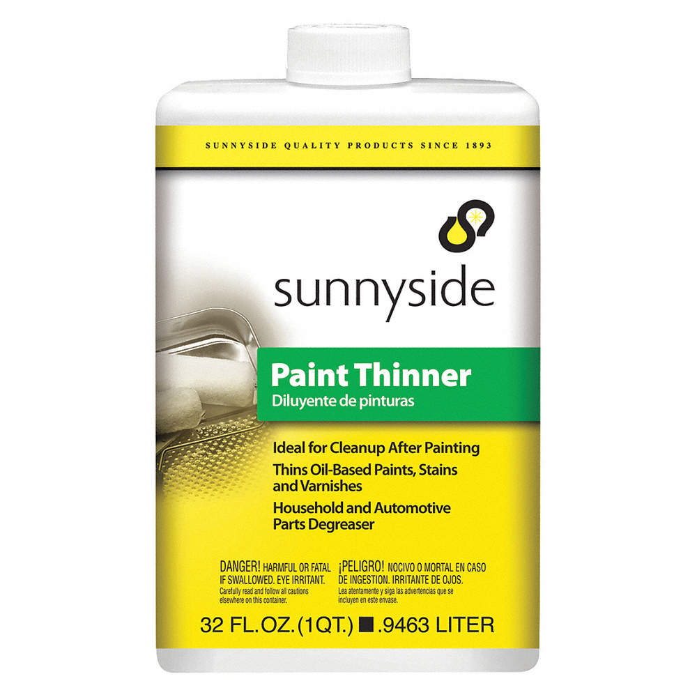 Paint Thinner, 1/4 gal , Brush, Roll, VOC Content: VOC Free