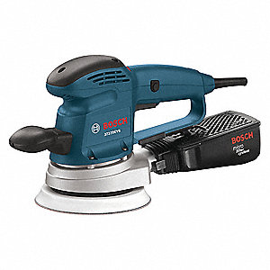 Bosch Random Orbital Sander Corded Hook And Loop 6 Pad Size 3 3 Amps Variable Speed Type 499k57 3727devsn Grainger