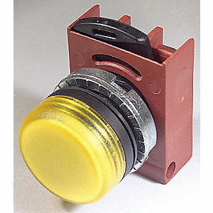 Pilot Light Head, 22mm, Lamp Type: Diffused LED, Terminal Connection: Screw Terminal