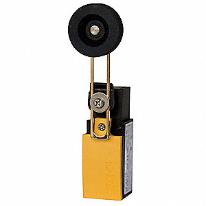 Rotary, Roller Lever General Purpose Limit Switch; Location: Side, Contact Form: 1NC/1NO, Horizontal