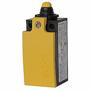 2NC Screw Terminal Limit Switch Body, AC Contact Rating: 6A @ 24/230/240VAC, 4A @ 400/415VAC