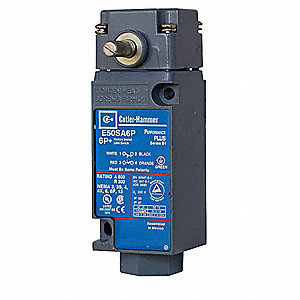 Rotary, No Lever Heavy Duty Limit Switch; Location: Side, Contact Form: 1NC/1NO, Rotary Movement