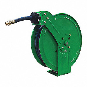 "1/2"", 35 ft. Spring Return Hose Reel, 300 psi Max. Pressure"