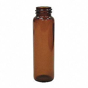 Type I Borosilicate Glass Vial, 0.54 dram 1000PK