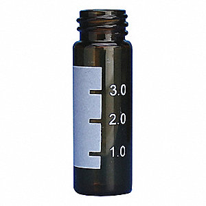 Type I Borosilicate Glass Vial, 0.14 oz. 1000PK