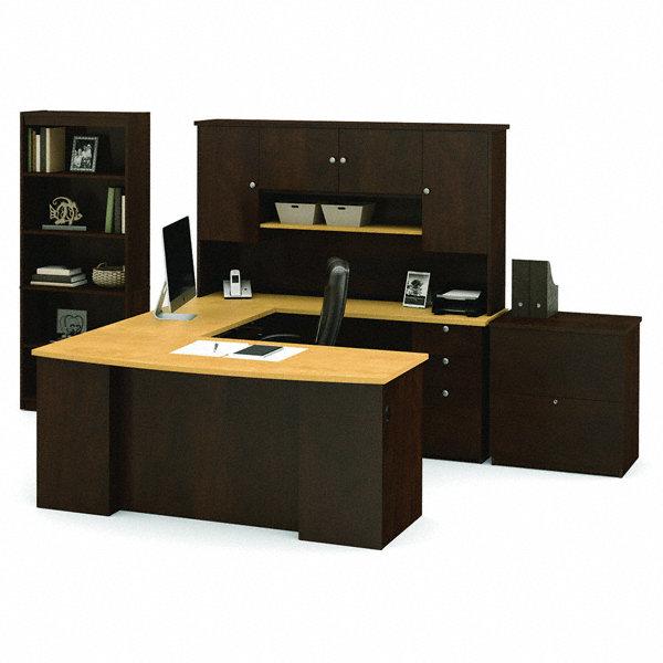 BESTAR Manhattan U Shape Office Desk Overall Height 70 45