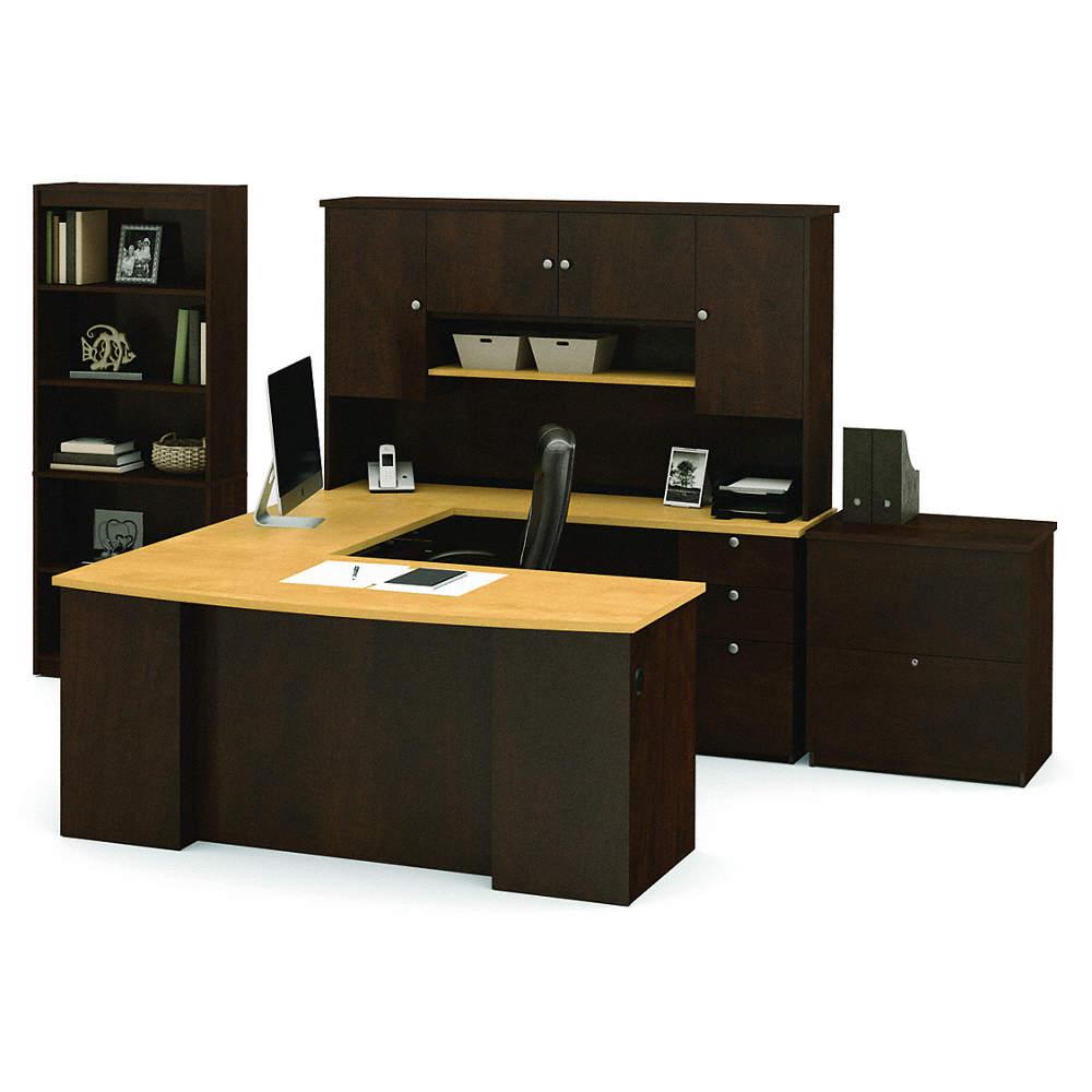Bestar Manhattan U Shape Office Desk